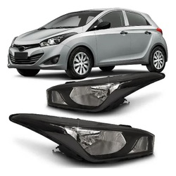 Farol HB-20 2013 a 2015 Máscara Preta - Total Latas - A loja online do seu automóvel