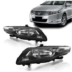 Farol City 2009 a 2014 Máscara Preta - Total Latas - A loja online do seu automóvel