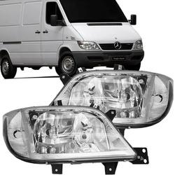 Farol Sprinter 2003 a 2012 Com Auxiliar - Total Latas - A loja online do seu automóvel