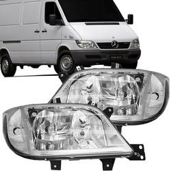 Farol Sprinter 2003 a 2012 Sem Auxiliar - Total Latas - A loja online do seu automóvel