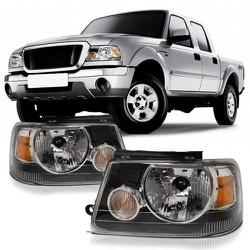 Farol Ranger 2005 a 2009 Máscara Negra - Total Latas - A loja online do seu automóvel