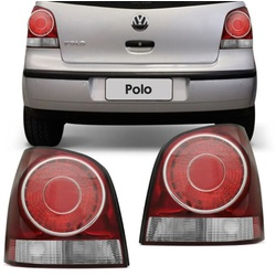 Lanterna Traseira Polo Hatch 2008 a 2013 - Total Latas - A loja online do seu automóvel