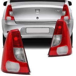 Lanterna Traseira Logan 2007 a 2010 - Total Latas - A loja online do seu automóvel