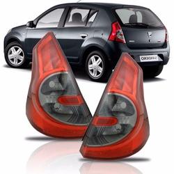 Lanterna Traseira Sandero 2007 a 2011 (Fumê) - Total Latas - A loja online do seu automóvel