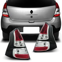 Lanterna Traseira Sandero Stepway 2012 a 2014 - Total Latas - A loja online do seu automóvel