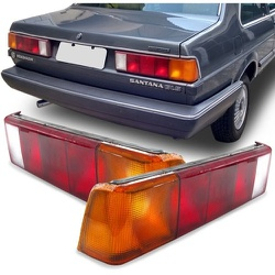 Lanterna Traseira Santana 1985 a 1990 - Total Latas - A loja online do seu automóvel