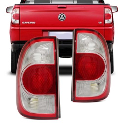 Lanterna Traseira Saveiro G4 2006 a 2010 Bicolor - Total Latas - A loja online do seu automóvel