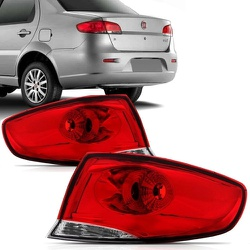 Lanterna Traseira Siena 2008 a 2011 Canto - Total Latas - A loja online do seu automóvel