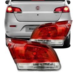 Lanterna Traseira Siena 2008 a 2011 Tampa - Total Latas - A loja online do seu automóvel