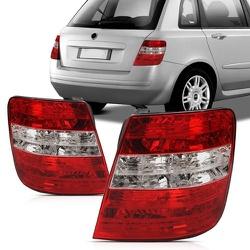 Lanterna Traseira Stilo 2003 a 2007 Bicolor - Total Latas - A loja online do seu automóvel