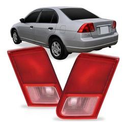 Lanterna Traseira Civic 2001 a 2002 (Tampa) - Total Latas - A loja online do seu automóvel