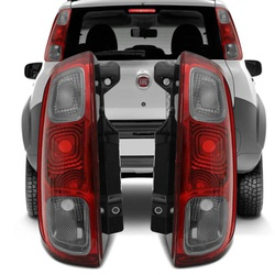 Lanterna Traseira Uno Vivace 2010 a 2014 (Fumê) - Total Latas - A loja online do seu automóvel
