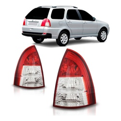 Lanterna Traseira Palio Weekend 2005 a 2007 Canto - Total Latas - A loja online do seu automóvel
