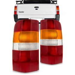 Lanterna Traseira Courier 1996 a 2013 (Tricolor) - Total Latas - A loja online do seu automóvel