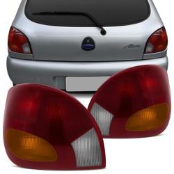 Lanterna Traseira Fiesta 1996 a 2002 (Tricolor) - Total Latas - A loja online do seu automóvel