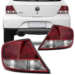 Lanterna Traseira Gol G5 2008 a 2012 (Bicolor) - Total Latas - A loja online do seu automóvel