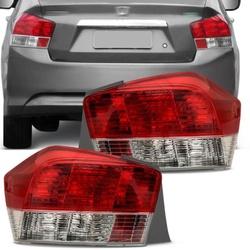 Lanterna Traseira City 2009 a 2012 - Total Latas - A loja online do seu automóvel