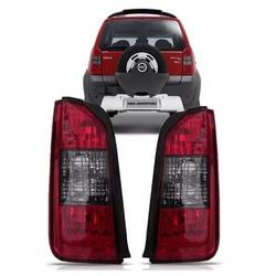 Lanterna Traseira Idea 2004 a 2009 Moldura Preta - Total Latas - A loja online do seu automóvel