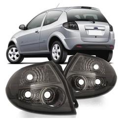 Lanterna Traseira Ka 2008 a 2010 (Fumê) - Total Latas - A loja online do seu automóvel
