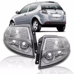 Lanterna Traseira Ka 2011 a 2012 (Cristal) - Total Latas - A loja online do seu automóvel