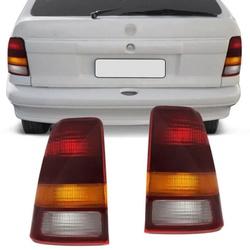 Lanterna Traseira Kadett 1989 a 1998 (Tricolor) - Total Latas - A loja online do seu automóvel
