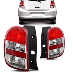 Lanterna Traseira March 2011 a 2014 - Total Latas - A loja online do seu automóvel
