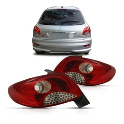 Lanterna Traseira Peugeot 207 Hatch 2008 a 2010 4 ... - Total Latas - A loja online do seu automóvel