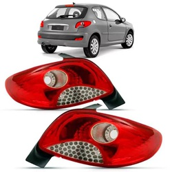 Lanterna Traseira Peugeot 207 Hatch 2011 a 2015 2 ... - Total Latas - A loja online do seu automóvel