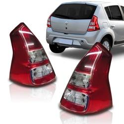 Lanterna Traseira Sandero 2012 a 2014 (Friso Croma... - Total Latas - A loja online do seu automóvel