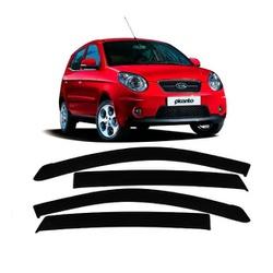 Calha de Chuva Kia Picanto 2006 a 2010 Fumê Jg - Total Latas - A loja online do seu automóvel