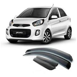 Calha de Chuva Kia Picanto 2011 a 2017 Fumê Jg - Total Latas - A loja online do seu automóvel