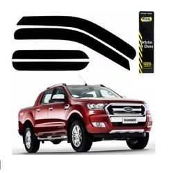 Calha de Chuva Ranger 2013 a 2019 Cabine Dupla Fum... - Total Latas - A loja online do seu automóvel