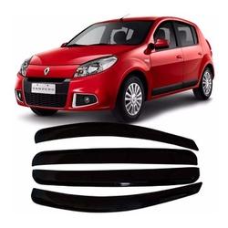 Calha de Chuva Sandero 2008 a 2014 Fumê Jg - Total Latas - A loja online do seu automóvel