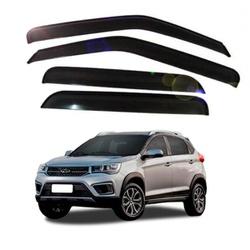 Calha de Chuva Tiggo 2 2018 a 2020 Fumê Jg - Total Latas - A loja online do seu automóvel