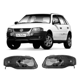 Farol Gol/Parati/Saveiro G4 2006 a 2012 Máscara Ne... - Total Latas - A loja online do seu automóvel