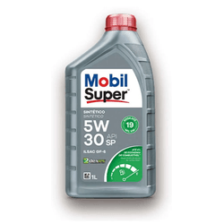 Oléo de Motor Mobil 2 Dexos 5W/30 Sintetico 1Lt - Total Latas - A loja online do seu automóvel