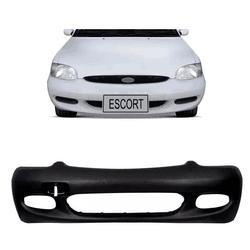 Parachoque Dianteiro Escort Zeteck Preto (DTS) - Total Latas - A loja online do seu automóvel