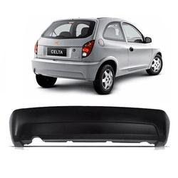 Parachoque traseiro Celta de 2006 em diante preto ... - Total Latas - A loja online do seu automóvel