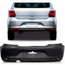 Parachoque Traseiro Gol G6 Preto Liso Com Furo Def... - Total Latas - A loja online do seu automóvel