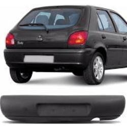 Parachoque Traseiro Fiesta 1996 até 1999 Preto - Total Latas - A loja online do seu automóvel