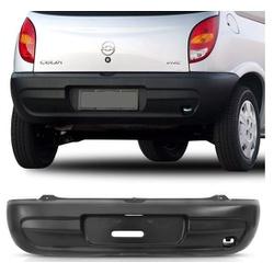 Parachoque traseiro Celta até 2005 preto - Total Latas - A loja online do seu automóvel