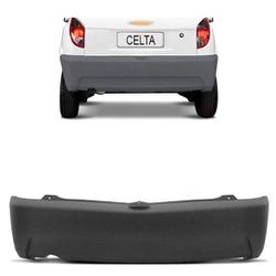 Parachoque traseiro Celta de 2006 em diante cinza - Total Latas - A loja online do seu automóvel