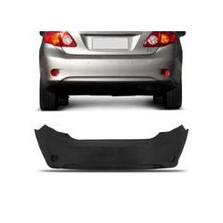 Parachoque Traseiro Corolla 2009 á 2010 Preto Liso - Total Latas - A loja online do seu automóvel