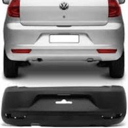 Parachoque Traseiro Fox 2011 até 2014 Preto Liso - Total Latas - A loja online do seu automóvel