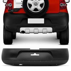 Parachoque Traseiro Crossfox Até 2007 Preto - Total Latas - A loja online do seu automóvel