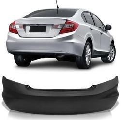 Parachoque Traseiro New Civic 2012 á 2016 Preto Li... - Total Latas - A loja online do seu automóvel