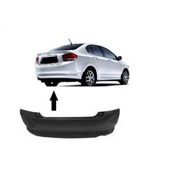 Parachoque Traseiro Honda City 2009 á 2012 Preto L... - Total Latas - A loja online do seu automóvel