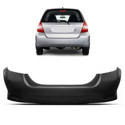 Parachoque Traseiro Honda Fit 2007 á 2008 Preto Li... - Total Latas - A loja online do seu automóvel