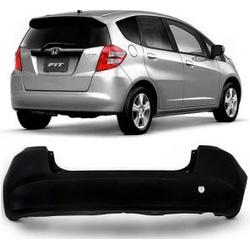 Parachoque Traseiro Honda Fit New 2009 á 2012 Pret... - Total Latas - A loja online do seu automóvel