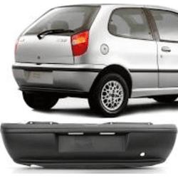 Parachoque Traseiro Palio até 2000 Preto - Total Latas - A loja online do seu automóvel